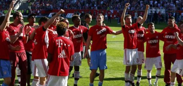 Bayern Munich ganó por cuarta vez consecutiva la Bundesliga