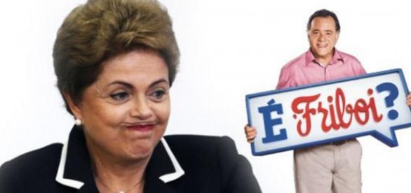 Foto/Google: Dilma e Tony Ramos