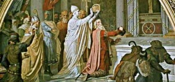 Koronacja króla Franków Karola na cesarza rzymskiego