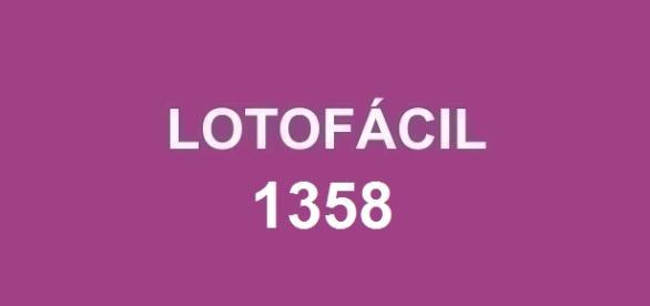 Lotofácil 1358; Premiação dessa sexta-feira.