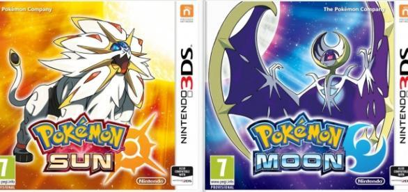 Portadas de los nuevos juegos de Pokémon