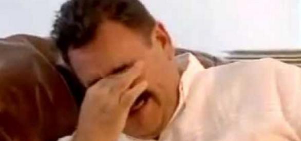 Ratinho chora na televisão - Imagem/SBT