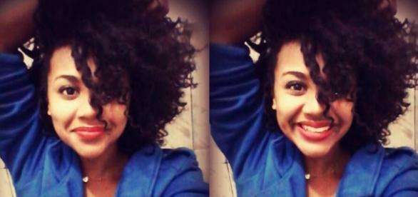 A jovem aprendiz, Larissa Inácio, vítima de racismo da diretora de uma universidade