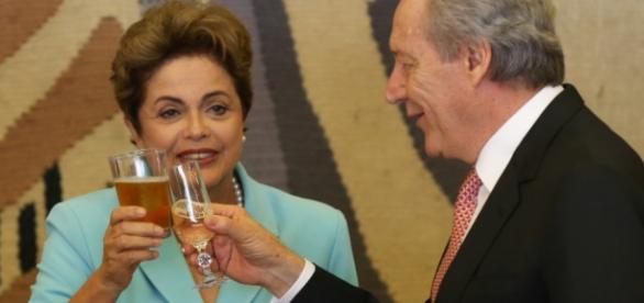 Dilma e Ministro do STF - Imagem do Google
