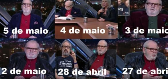 Jô Soares só usa vermelho na televisão