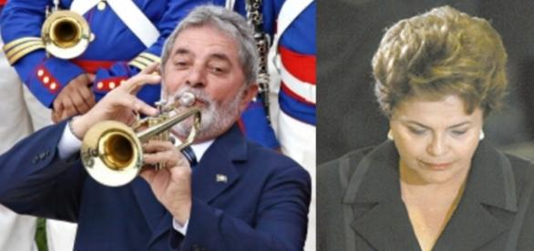 Luiz Inácio Lula da Silva e Dilma Rousseff