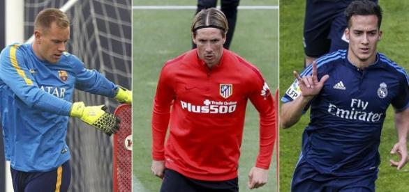 Barcelona, Atletico y Real Madrid. Aspirantes a lograr titulos esta temporada