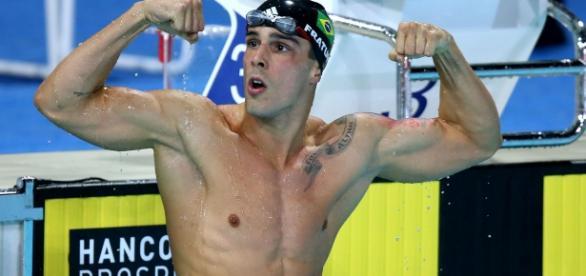 Bruno Fratus, promessa brasileira das Olimpíadas Rio 2016