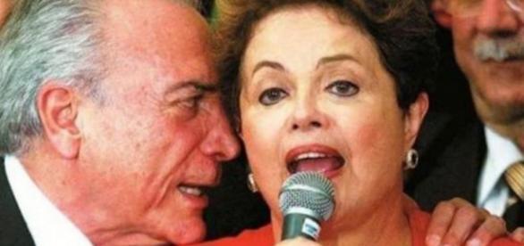 Michel Temer e Dilma Rousseff - Imagem: Google