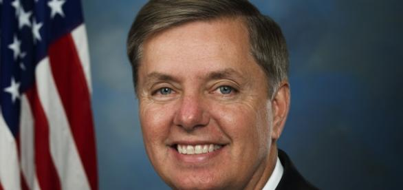 Sen. Lindsey Graham, official senate photo from Wikipedia