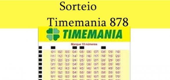 Sorteio Timemania 878 acontece neste sábado (14)