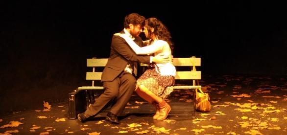 Una emocional dupla de actores, Lourdes Isola y Martin Lo Nigro