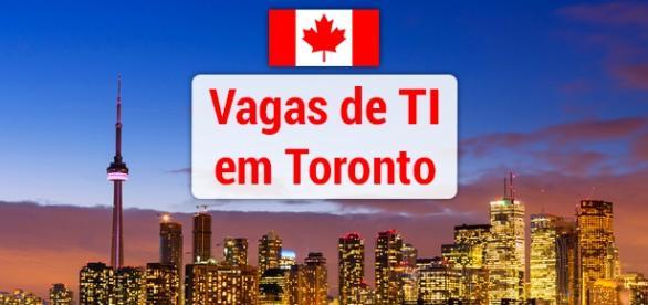 Vagas de TI em Toronto no Canadá. Foto: Reprodução Flyporter.