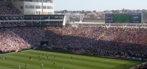 Corinthians x Santos na Arena Corinthians