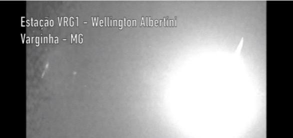 Enorme bola de fogo foi vista sobre cidades de MG, no domingo, dia 29