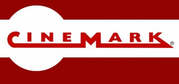 Imagem com o logotipo do Cinemark