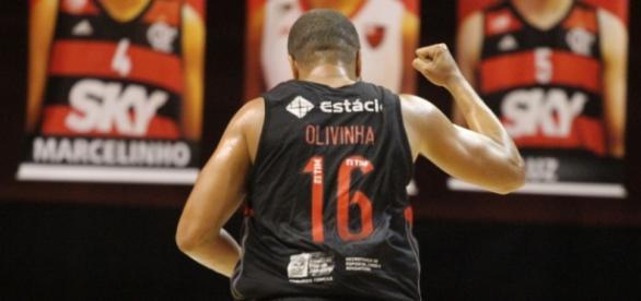 Olivinha é uma das referências do time rubro-negro