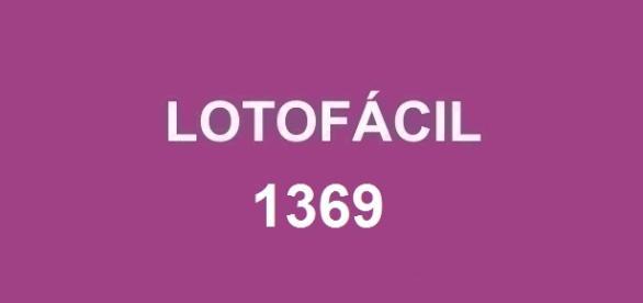 Primeiro sorteio a ser realizado em Junho; Divulgação do resultado da Lotofácil 1369 acontece nessa quarta-feira (1).