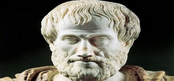 Representação do filósofo grego Aristóteles