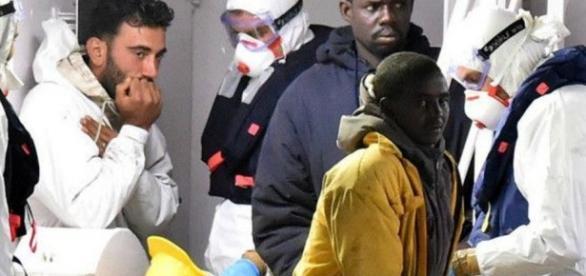 Efectos colaterales de la migración, el dolor humano