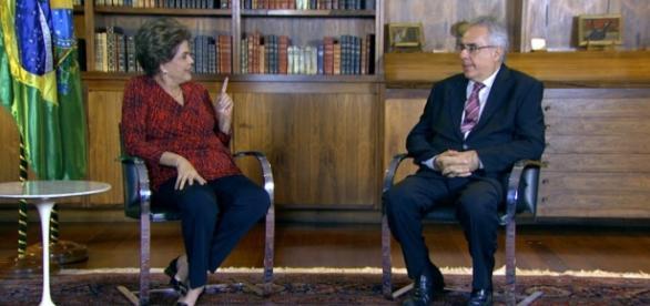 Entrevista de Dilma para TV Brasil agita as redes sociais