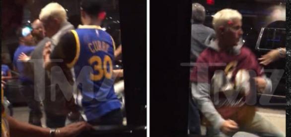 Justin se meteu em nova briga e há vídeo do momento