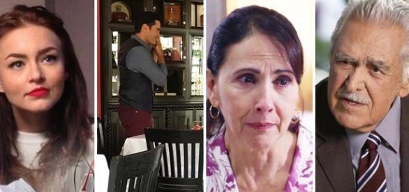 O casal repete parceria em Tres Veces Ana (Foto: Televisa)