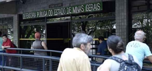 Defensoria Pública de Minas Gerais (Foto: Reprodução/Google)