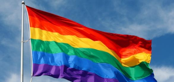 Tęczowa flaga środowisk LGBT, walczących o równość i tolerancję