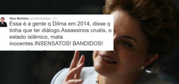 Dilma Rousseff é acusada de cooperar com EI