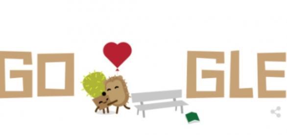 Google celebra o 'Dia dos Namorados' com um lindo Doodle
