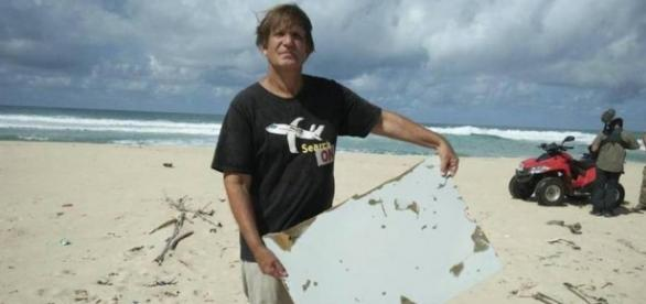 Blaine Gibson hizo el hallazgo en una isla en el este de Madagascar