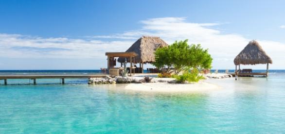 A bela Honduras e as lindas praias. (Créditos: Reprodução)