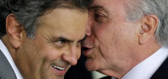Aécio Neves e Michel Temer são citados por Sérgio Machado