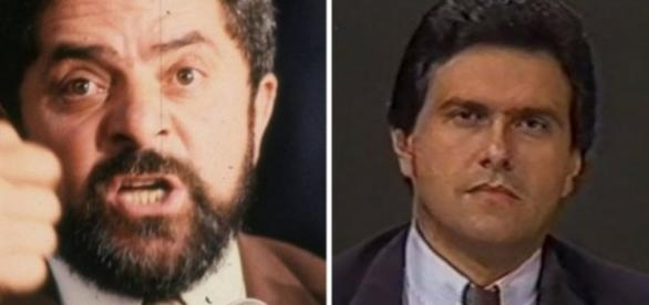 Caiado e Lula se enfrentaram em 1989 em debates