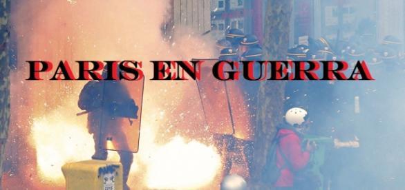 Combates en las calles de Paris
