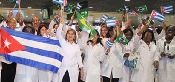 Cubanos deixam brasileiros na mão