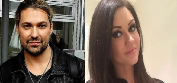 David Garrett y su ex novia Ashley Youdan