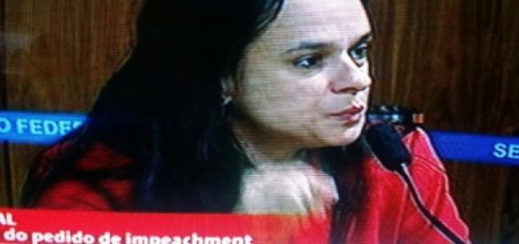 Janaína Paschoal na Comissão do impeachment