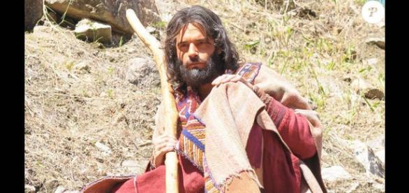 Moisés dirá ao povo hebreu que somente Josué e Calebe entrarão na Terra Prometida (Foto: Reprodução/TV Record)