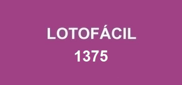Resultado da Lotofácil 1375 será divulgado nessa quarta-feira, dia 15