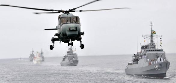 Comandante da Marinha afirma que cortes orçamentários prejudicam segurança do País. Foto: Marinha do Brasil / Facebook.