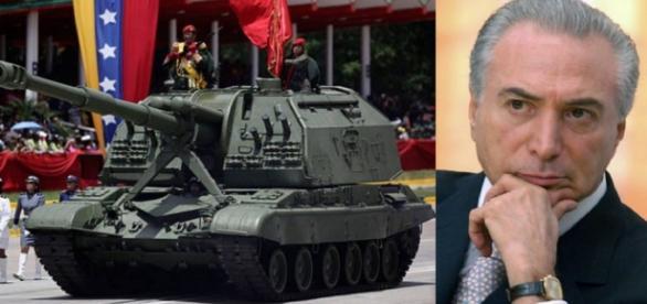 Crise na Venezuela vira preocupação de Temer