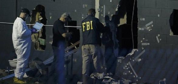 Parede da Pulse pela qual entraram os policiais da SWAT.