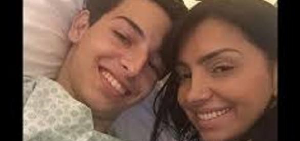 Última foto de mãe e filho tirada no hospital