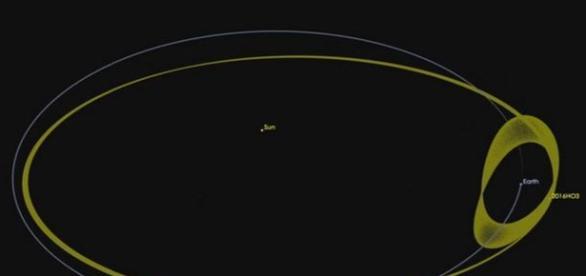 2016 HO3 foi descoberto em 27 de abril desse ano