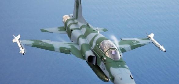 Caça da Força Aérea é do mesmo modelo da imagem