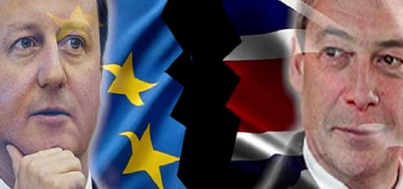 El Brexit, David Cameron y el lider del UKP The Thelegraf