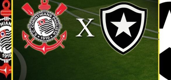 Corinthians x Botafogo se enfrentam pelo Brasileirão