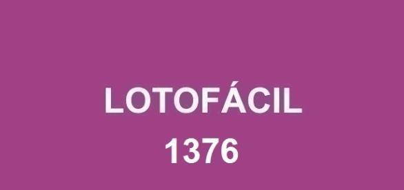 Divulgado o resultado do concurso 1376 na Lotofácil